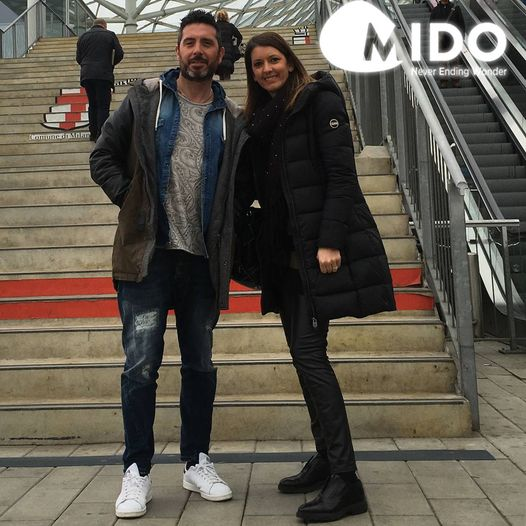 Elena e Dodo al Mido 2016